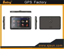 7.0 inch car GPS navigation built-in 4GB,dvr,camera,blutooth,av-in