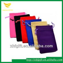 Drawstring Velvet Pen Gift Bag Customized