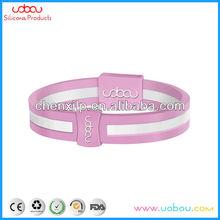 Energy drink /Gorilla shape logo silicone ion bracelet silicone wristband