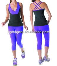 Wholesale nylon spandex brazil women sportswear