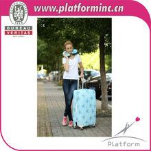 """Luggage Jacket Slip-On Luggage Cover LARGE 26-30"""" Travel Stamp NEW"""