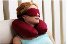 Silk Sleep Eyes Mask, Natural Silk, Eco-friendly