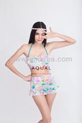 Vintage high waist bikini