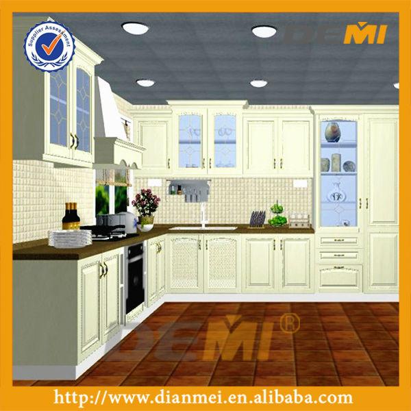 المطبخ مجلس الوزراءالخشب مطبخ الخزائن
