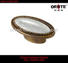 Porcelain Cabinet Accessory Knob (T575)