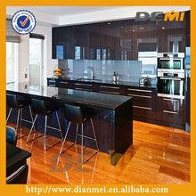laminated melamine mdf board light oak kitchen cabinets
