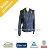 2013 new Design Fashion PU Coating Men Spring Jacket withDetachable hood