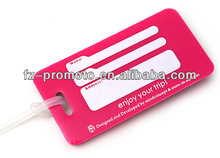 promotional product luggage identification tags for boys suitcases