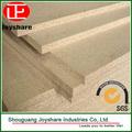 Precio barato de madera aglomerada/aglomerado de fábrica en china