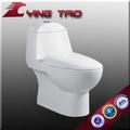 Modelo de cerámica, lavabo de una pieza, lavabo de cerámica barnizado WC tamaños de olla en bidet