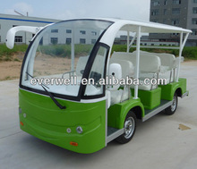 Sightseeing auto transmission 8 seats battery operated electric vehicle