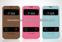 Flip flip double view case / Flip cover / Double view smartphone case