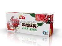 Kakoo Rose Ice Tea iced tea brand bag double chamber icedrose tea