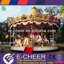 Superior model children theme park merry go round kids carousel toy