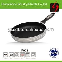 Nonstick coating aluminum divided frying pan