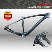 T700 carbon fiber mtb bikes 29er carbon hard tail mountain bike frame thru axle