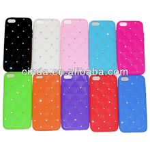 Bling Soft Silicone Back Case Cover Skin for Apple iphone 5C Wholesale
