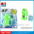 B / O grenouille pistolet de bulle avec light music, Coup bubble animaux, Bubble set HC185441