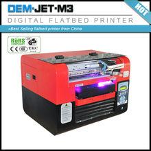 Desktop UV Inkjet Printer E pson Flatbed Bottle Printer Mug Printer