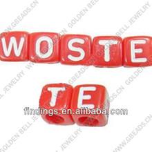 AB4273 acrylic plastic beads landing,plastic acrylic beads,6mm alphabet letter beads