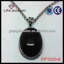 FP1020-6 black stone beaded necklace fashion glitter make stone necklace