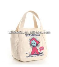 Cotton canvas bags women handbag