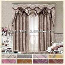 Housing style blackout drapery curtain