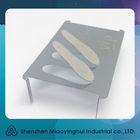 3D laser cut metal business card