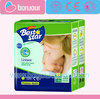 Hot sale high quality low price BEST STAR baby nappy company in turkey
