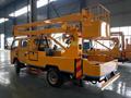 China fabricante DFAC Furuika 4 * 2 14 m plataforma aérea poda de árvores caminhão