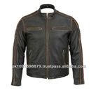 Leather Casual Wear Fashion Jacket Bike Racer Sports Coat