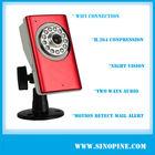 Sinopine H.264 multi-stream mini cute webcam nights