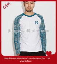 Basketball clothes men long print sleeves sweatshirt