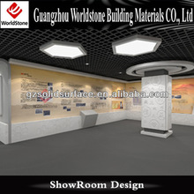 popular showroom display made in artificial marble