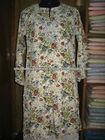 long sleeve chiffon blouse / printed chiffon tops