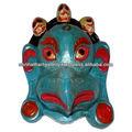 máscaras decorativas de parede parede pendurado máscara de parede de madeira máscara