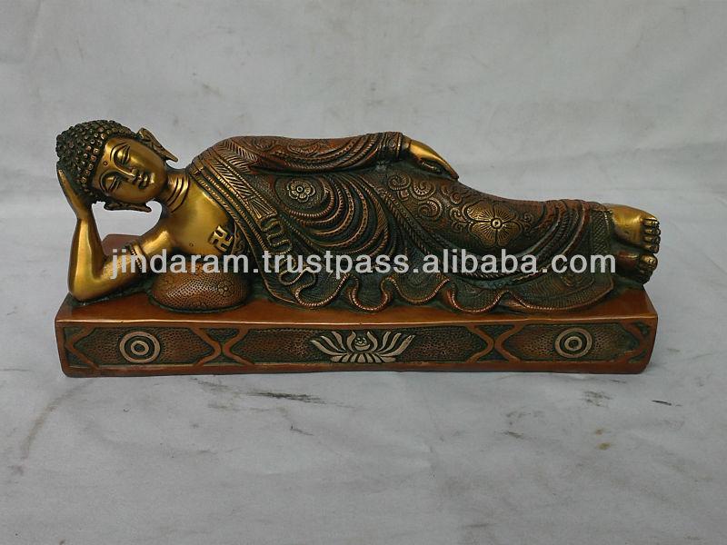 Gautam Buddha Statue Sleeping Antique Sleeping Buddha Statue Jpg