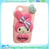 promotional gifts cute animal design silicone cell phone cover maker