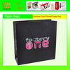 Pantone Color Printing Paper Bag with Black Eyelet