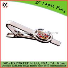 Custom logo tie clips/ tie bars/ branded tie clips
