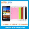 7 inch MTK Built in 3G Tablet PC WCDMA HSDPA HSPA+
