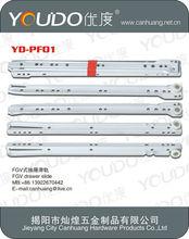 FGV drawer slide soft closing/undermount soft close drawer slide