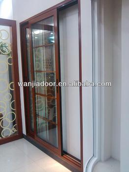 commercial double steel doors with glass/double glazed door