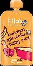 Ella's Kitchen Banana Apricot Baby rice 120g Stage 1 ( 4 months +)