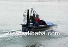 Piraña- 1 aerodeslizador( bote de aire)