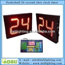 New digit design wireless 24 seconds scoreboard basketball