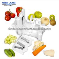 Kitchen tool plastic manual vegetable slicer