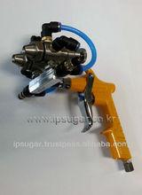 Dual head & hand spray gun, Paint spray gun