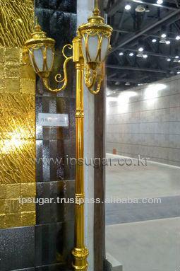 Gold stool - External gold coating decoration