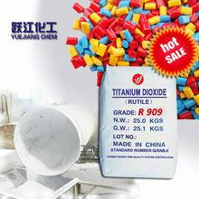 good rutile titanium dioxide R909 pea car paint original ore pearl pigment
